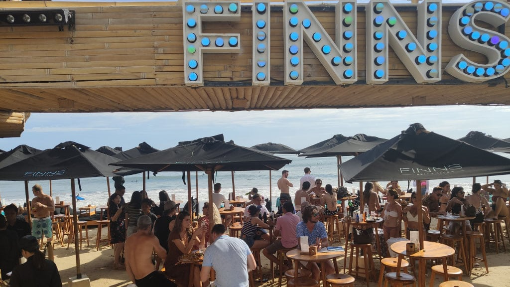 Finns Beach Club, Canggu Bali - Fitness Holiday in Bali - Fitness Holidays for Travelling Athletes