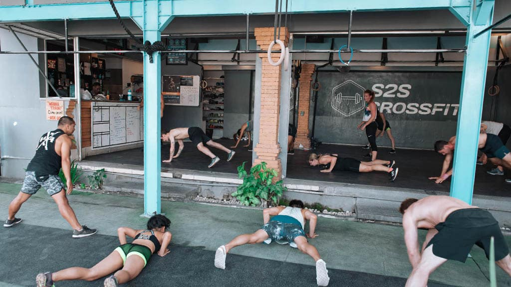 Fitness Holidays in Bali - S2S CrossFit Bali - Fitness Holidays For Travelling Athletes