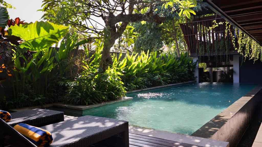 Pool - Kemilau Hotel & Villa Canggu, Bali - Fitness Holidays with Travelling Athletes - Fitness Holiday in Bali