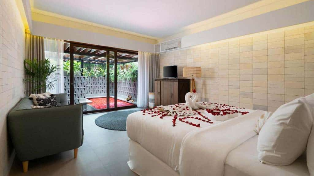 Room - Kemilau Hotel & Villa Canggu, Bali - Fitness Holidays with Travelling Athletes - Fitness Holiday in Bali