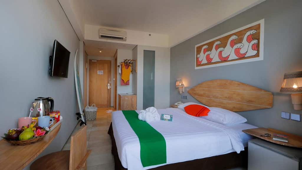 Koa D` Surfer Hotel - Room with Balcony - Fitness Holidays in Bali - Fitness Holidays for Travelling Athletes