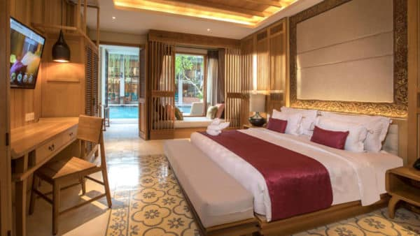 Pool Access Haven Suite - The Haven Suites Bali Berawa - Fitness Holidays in Bali - Fitness Holidays for Travelling Athletes