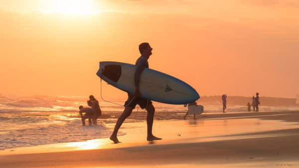 Surfing in Bali - Fitness Retreat Bali - Fitness Holidays for Travelling Athletes