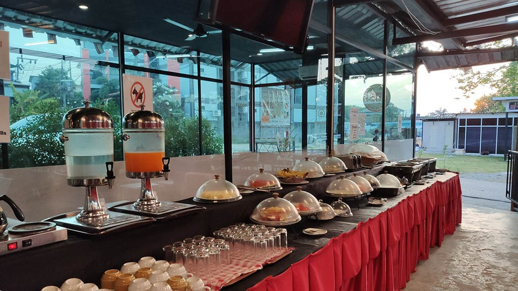 Breakfast - Titan Fitness Camp Phuket Thailand - Fitness Holiday Phuket - Fitness Holidays for Travelling Athletes