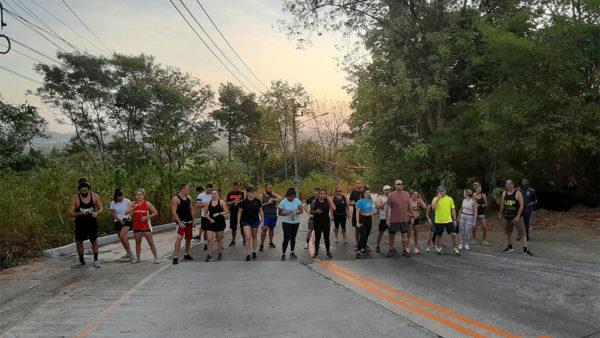 Weekly Buddha Run - Titan Fitness Camp Phuket Thailand - Fitness Holiday Phuket - Fitness Holidays for Travelling Athletes