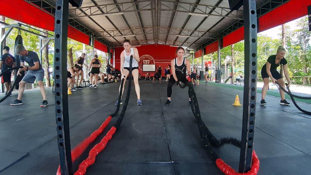 Fitness Class - Titan Fitness Camp Phuket Thailand - Fitness Holiday Phuket - Fitness Holidays for Travelling Athletes
