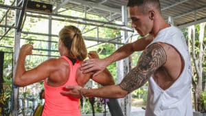 Personal Training - Ulrike training at FitKoh Koh Samui - Fitness Holiday Koh Samui - Fitness Holidays Thailand for Travelling Athletes (1)
