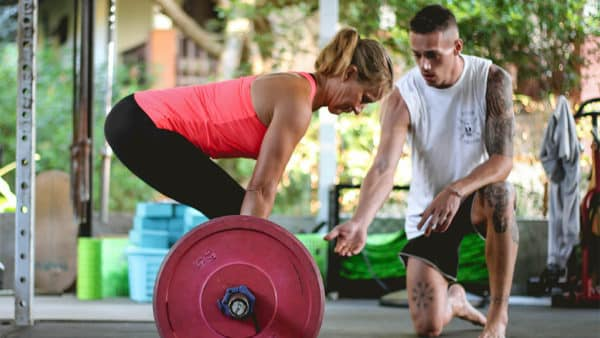 Personal Training - Ulrike training at FitKoh Koh Samui - Fitness Holiday Koh Samui - Fitness Holidays Thailand for Travelling Athletes (1 (5)