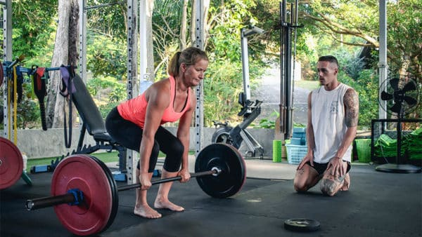 Personal Training - Ulrike training at FitKoh Koh Samui - Fitness Holiday Koh Samui - Fitness Holidays Thailand for Travelling Athletes (1 (8)
