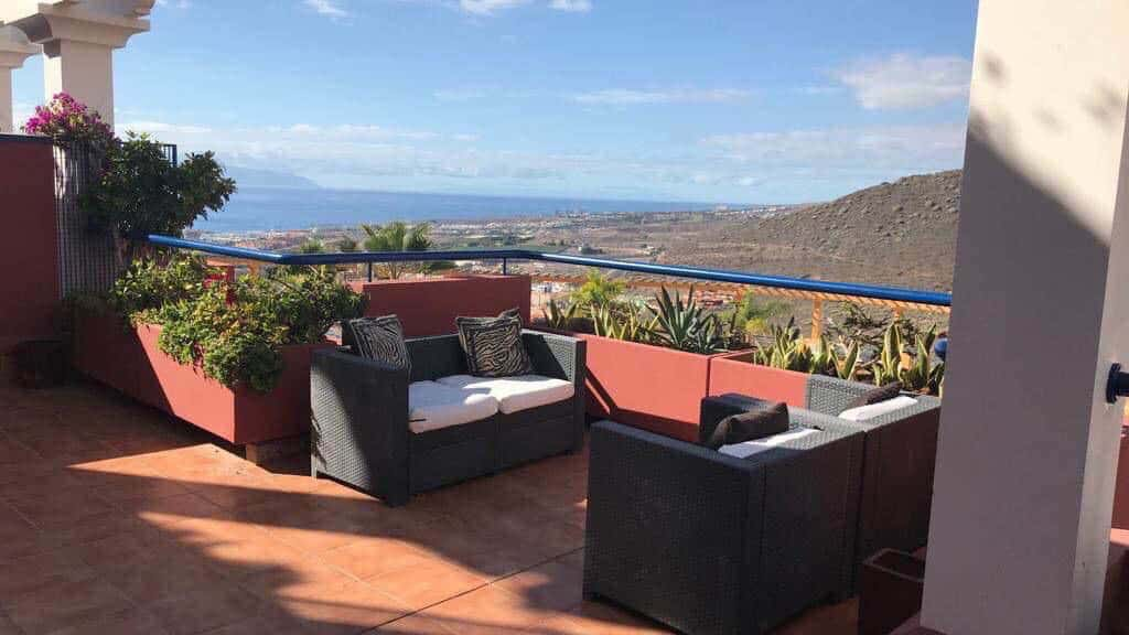 Private Standard Flat - Balcony - Roque del Conde - Fitness Holidays for Travelling Athletes - Bootcamp Holiday