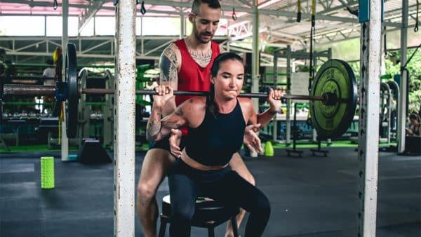 Sam enjoying Personal Training with Coach Tony - Fitness Holiday Koh Samui - FitKoh - Fitness Holidays Thailand for Travelling Athletes (1)