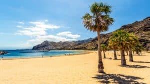 Playa de Las Teresitas - Tenerife, Canary Islands, Spain - Fitness Holidays in Spain - Fitness Holidays for Travelling Athletes