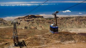 Teleferico - Cable Car Teide- Tenerife, Canary Islands, Spain - Fitness Holidays in Spain - Fitness Holidays for Travelling Athletes