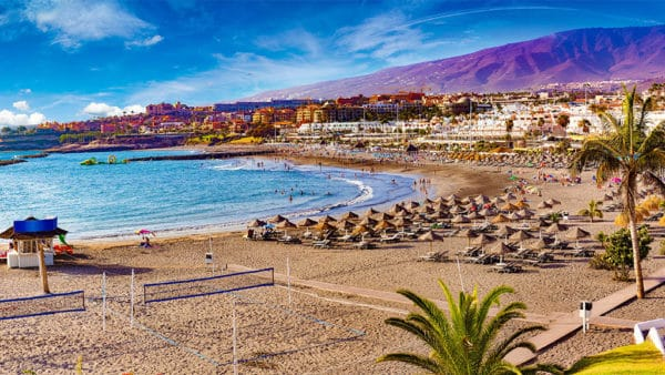 Playa del Torviscas - Costa Adeje - Tenerife, Canary Islands, Spain - Travelling Athletes - Fitness Holidays