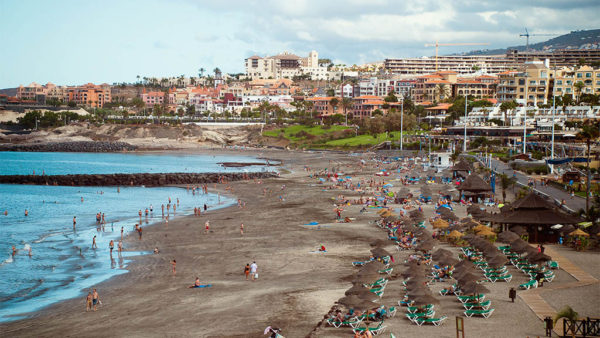 Fanabe Beach - Tenerife, Canary Islands, Spain - Fitness Holidays in Tenerife - Fitness Holidays for Travelling Athletes