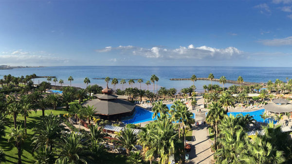 View Riu Palace Costa Adeje - Tenerife, Canary Islands, Spain - Fitness Holidays in Tenerife - Fitness Holidays for Travelling Athletes