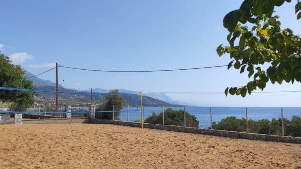 Beach Volleyball - Melitsina Village Hotel - Fitness Holiday Greece