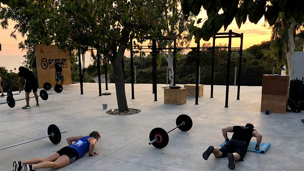 CrossFit Unboxed - Fitness Holiday Greece - Fitness Vacation - Travelling Athletes