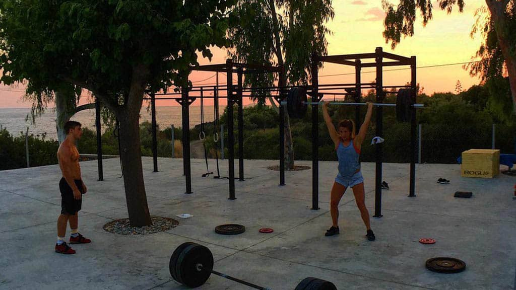 CrossFit Unboxed in Greece - Fitness Holiday Greece - Fitness Holidays for Travelling Athletes