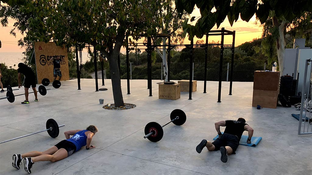 CrossFit Unboxed in Greece - Fitness Holiday Greece - Fitness Holidays for Travelling Athletes (6)