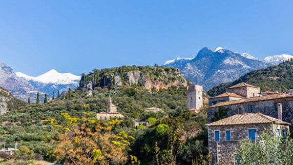 Fitness Holiday in Kardamili, Greece - Travelling Athletes - Traditional Village in Mani