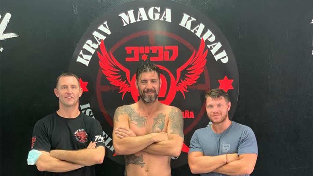 Krav Maga Holiday - Kapap Holiday - Fitness Holiday Tenerife - Steve Coster and Travelling Athletes
