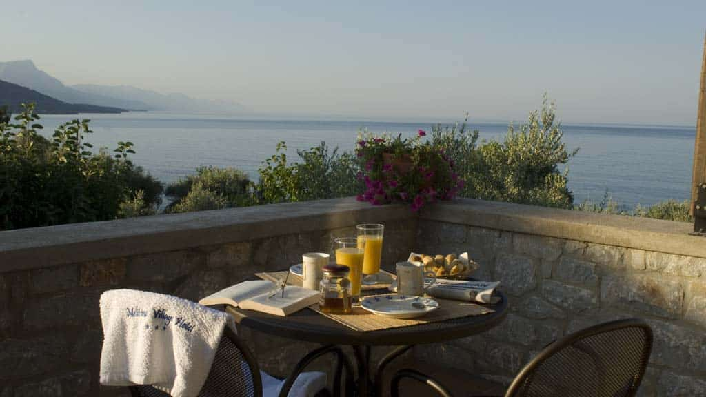 Breakfast - Melitsina Village Hotel - Fitness Holiday Greece - Travelling Athletes