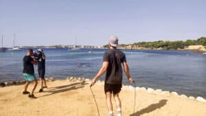 Beach Workout - Bootcamp Mallorca - Fitness Holiday for Travelling Athletes (7)