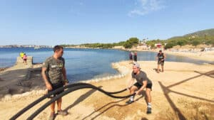Beach Workout - Bootcamp Mallorca - Fitness Holiday for Travelling Athletes