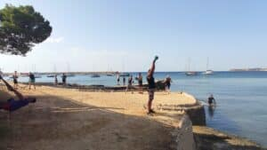 Beach Workout - Bootcamp Mallorca - Fitness Holiday for Travelling Athletes (9)