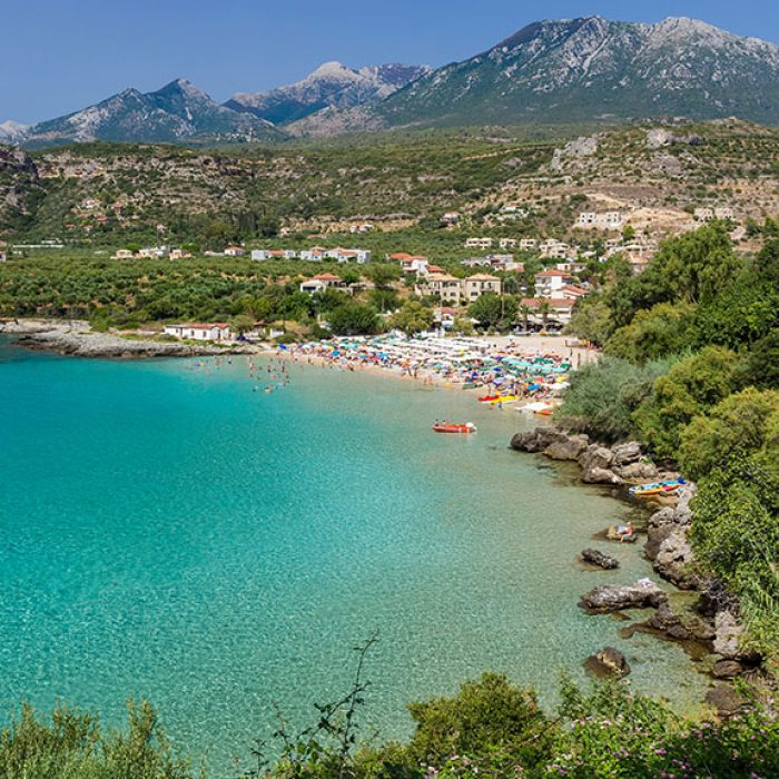 Fitness Holiday in Kardamili, Greece - Travelling Athletes - Kalogria Beach (1)
