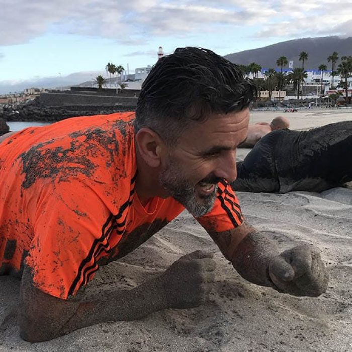 Beach Workout - Fitness Holiday in Tenerife - Bootcamp Holiday - Steve Coster Fitness Holiday - Fitness Holiday in Spain - Fitness Holidays for Travelling Athletes