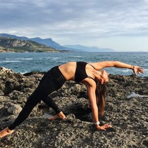 Liv - Salt Yoga - Your Yoga Teacher - Fitness Holiday in Greece - Fitness Holidays for Travelling Athletes