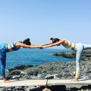 Liv - Your Yoga Teacher from Salt Yoga - Fitness Holiday in Greece - Fitness Holidays for Travelling Athletes