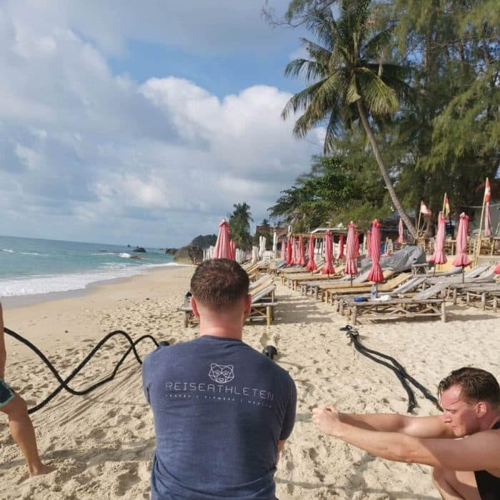 Travelling Athlete in Koh Samui